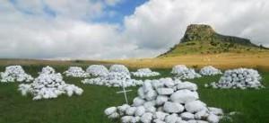 Isandlwana memorial stones
