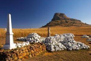 Isandlwana-graves